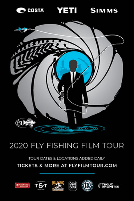 2020 Fly Fishing Film Tour Poster